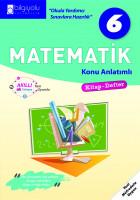 Bilgiyolu - 6.Sınıf - Matematik- Konu Anlatımlı-(2018-2019)