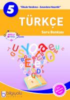 Bilgiyolu - 5.Sınıf - Türkçe - Soru Bankası-YENİ